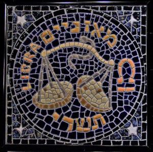 Libra mosaic by Ancient Ties